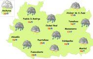 Lunes de nuevas lluvias en la provincia de Ciudad Real