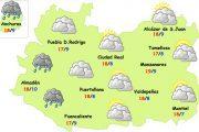 Menos paraguas este miércoles en Ciudad Real