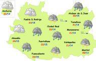 Bajan las temperaturas este jueves en Ciudad Real