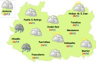 Este jueves aumentan las nubes en espera de un fuerte descenso térmico