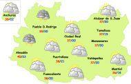 El tiempo en Ciudad Real: pico de MUCHO calor
