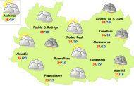 El tiempo en Ciudad Real: sábado de más calor y posibles tormentas el domingo