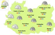 Martes de posibles tormentas fuertes en la provincia de Ciudad Real