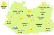 Este jueves se inicia un ascenso térmico en la provincia de Ciudad Real