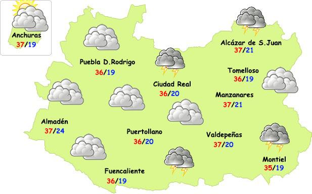 Este lunes se inicia el cambio de tiempo en Ciudad Real