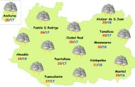 Este martes se podrán registrar fuertes tormentas en Ciudad Real y bajarán las temperaturas