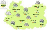 Viernes de fuertes lluvias y tormentas en la provincia de Ciudad Real