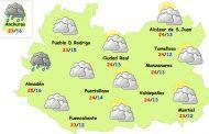 El tiempo en Ciudad Real: finde de nubes y más fresco
