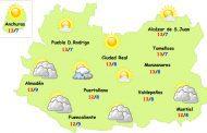 El tiempo en Ciudad Real: cesa la lluvia y se mantienen las temperaturas