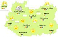 El tiempo en Ciudad Real: nieblas el viernes y domingo y lluvias el sábado