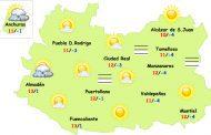 El tiempo en Ciudad Real: nieblas y aumento de nubosidad el martes