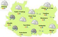 El tiempo en Ciudad Real: más nubes y descenso de temperaturas