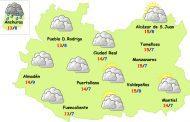 El tiempo en Ciudad Real: nubes y subida de temperaturas