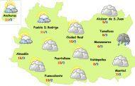 El tiempo en Ciudad Real: suben las temperaturas el martes