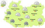 El tiempo en Ciudad Real: nubes y fresco