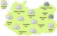 El tiempo en Ciudad Real: vuelven las nubes y alguna lluvia débil