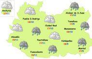 El tiempo en Ciudad Real: miércoles de menos tormentas