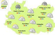 El tiempo en Ciudad Real: lunes de calor y nubes de evolución