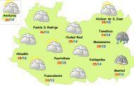 El tiempo en Ciudad Real: gran bajada de temperaturas