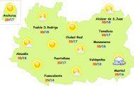 El tiempo en Ciudad Real: lunes de sol y calor llevadero