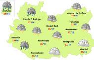 El tiempo en Ciudad Real: miércoles de lluvias, tormentas y bajada de temperaturas