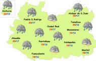 El tiempo en Ciudad: lluvia y fuerte bajada de las temperaturas