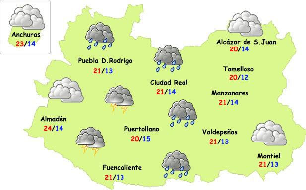 El tiempo en Ciudad Real: aumenta la inestabilidad este miércoles